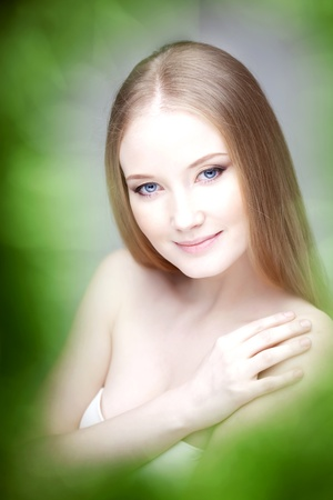 The image of a woman with luxurious hair Stock Photo - 10705232