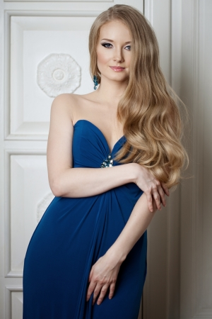Beautiful woman with a volumetric hair Stock Photo - 14797691