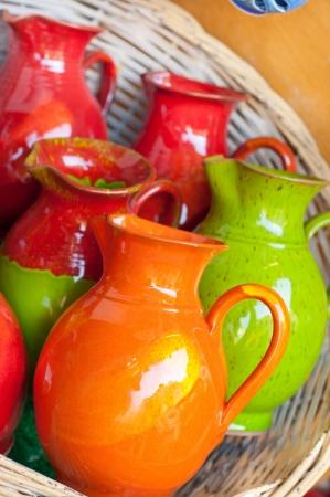 ギリシャの陶器 写真素材