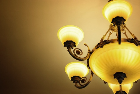 Luxury lamp photo