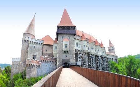Gotische Burg in Hunedoara Transylvania