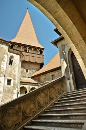 Gotische Burg in Hunedoara Siebenbürgen