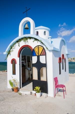 Kleine griechische Kirche auf Kreta