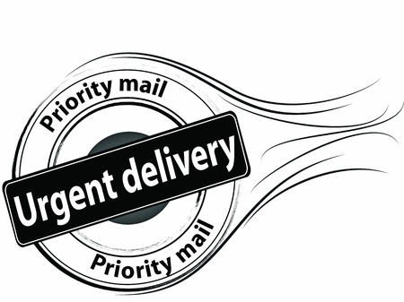 Urgent delivery Stock Vector - 17995578