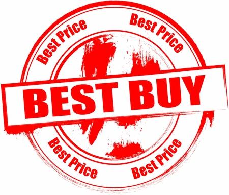 最高の価格のスタンプ  イラスト・ベクター素材