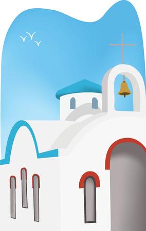 church illustration vector Illustration