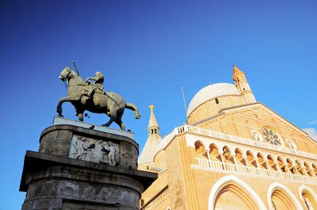 Donatello sculpture in Padua
