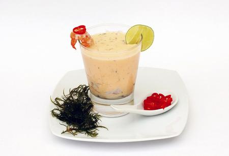 tigre: Appetizers Peruvian Traditional Dish Leche de Tigre