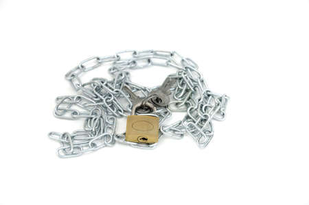 Chain With Lock And Key photo