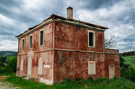 Abandoned house in Sardinia, Italy photo