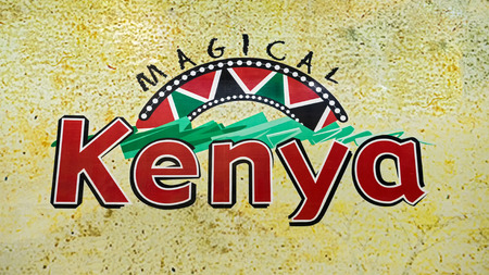 conference centre: NAIROBI, KENYA - OCTOBER 20, 2014 : Welcome sign at the Kenyatta International Conference Centre located in the central business district of Nairobi