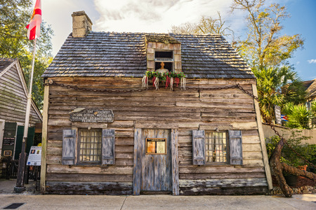 schoolhouse: Oldest Schoolhouse in the United States, St. Augustine, Florida