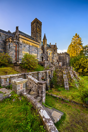 kirk: St Conans Kirk located in Loch Awe, Argyll and Bute, Scotland