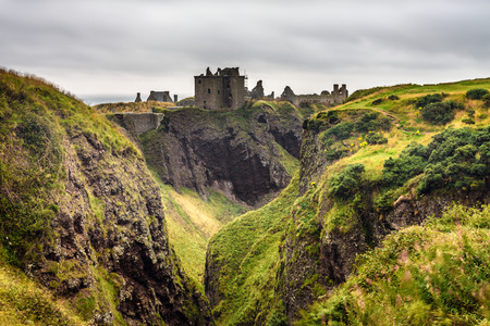 Dunnottar Castle, Scotland, United Kingdom.
