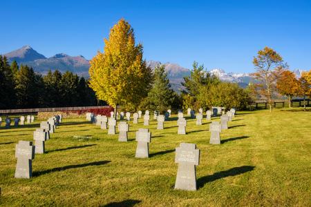 German military cemetery in Slovakia Editorial