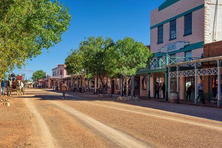 Historic Allen street in Tombstone, Arizona