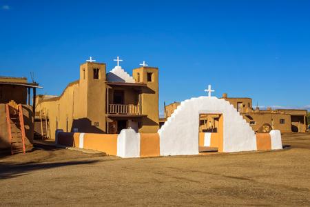 San Geronimo church in Taos Pueblo, New Mexico