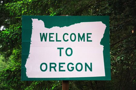 Welcome to Oregon State Sign