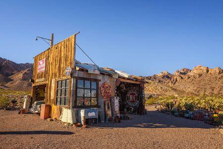 Nelson-Geisterstadt im El Dorado Canyon in der Nähe von Las Vegas, Nevada