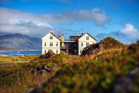 Luxury Hotel Budir located on the Snaefellsnes peninsula in west Iceland