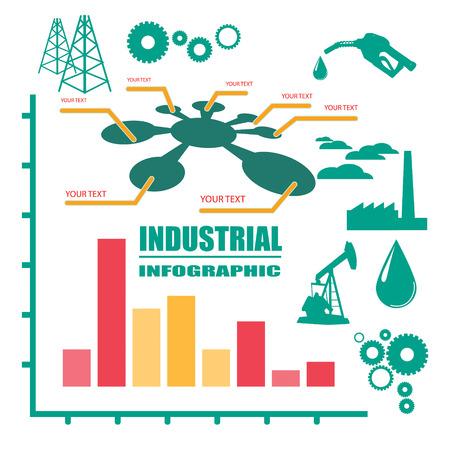 petroleum: Petroleum industry Illustration