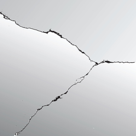 crack vector earthquake background earth
