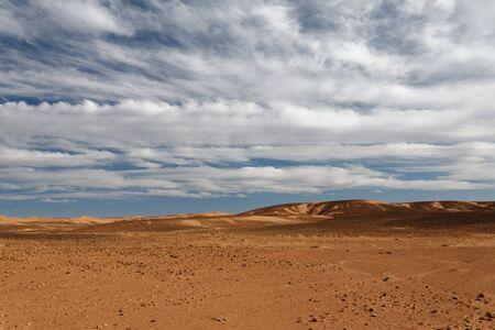 Sahara desert in Morocco Stock Photo