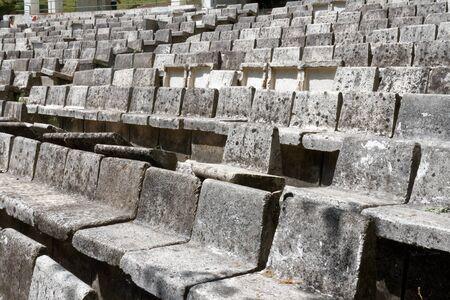 Concrete amphitheater