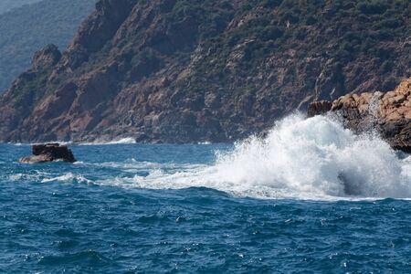 Waves in the gulf Archivio Fotografico - 129441707