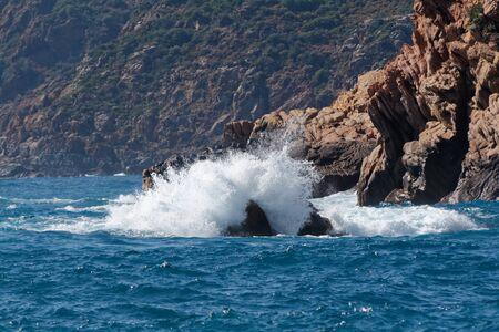 Waves in the gulf Archivio Fotografico - 129447646