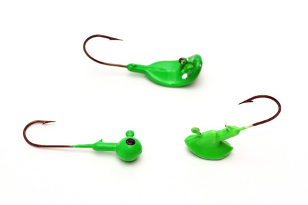 fishhook: Fishing, fishhook, artificial bait, fishing jig on a white background