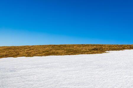 Discover beautiful Romanian Mountains- Winter landscape Banco de Imagens