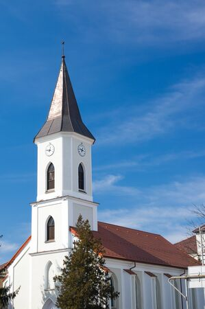 Church Bistrita Transilvania Romania