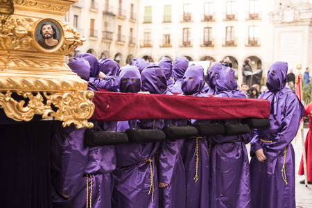 avila: Procession of students Avila