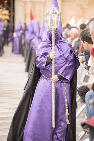 procession: Procession of students Avila