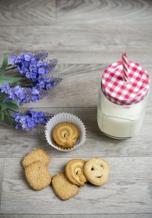 dutch: Dutch cookies Stock Photo