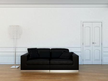 Muebles en la sala de estar Foto de archivo - 12763334