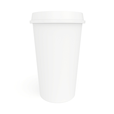 a large cup of coffee