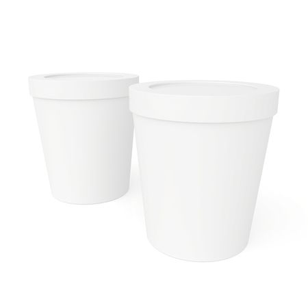 closed paper cups photo