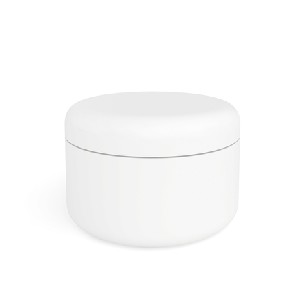 face care isolated on the white background