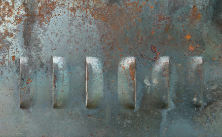 metal corrosion: Texture background of old metal corrosion undergone.