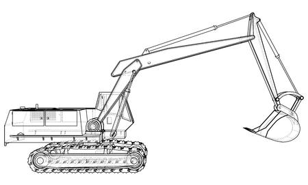 cargadoras Abstellzug para maquinaria de construcción Universal excavadoras