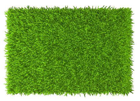 Gras Hintergrundtextur. frisches Gras. 3D-Rendering