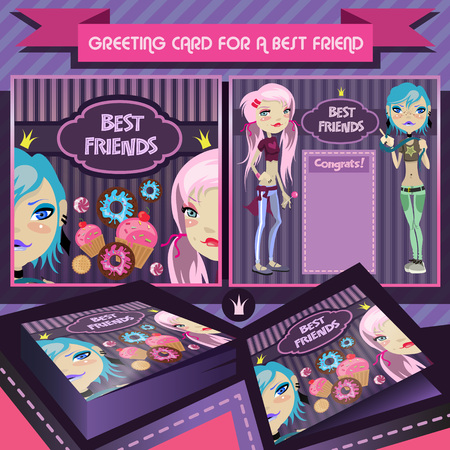 Greeting Card For A Best Friend Birthday Greetings For Girls
