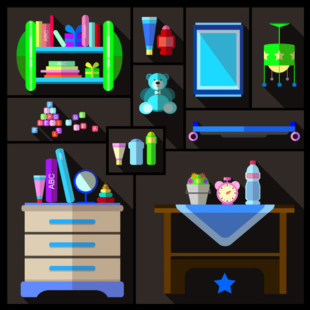 bedroom: boys bedroom furniture sets Illustration