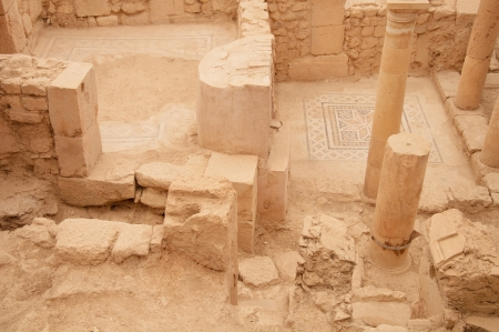 uninterrupted: Ancient city Zeugma in Turkey located near Gaziantep and by the river Euphrates