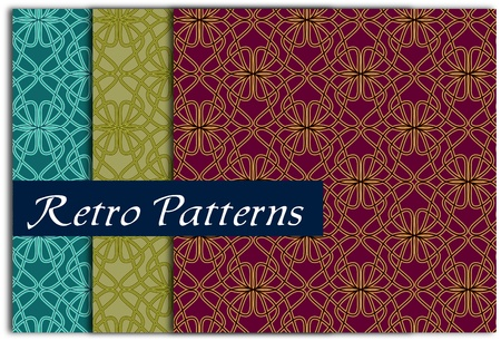 Ornamental seamless pattern. Vector abstract background. Vector