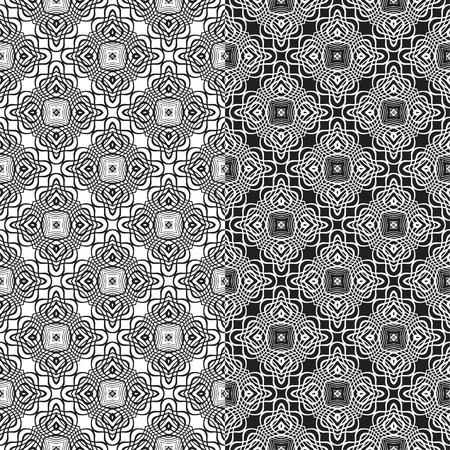 marocchini: Ornamentale senza soluzione di continuit�. Vector sfondo astratto.