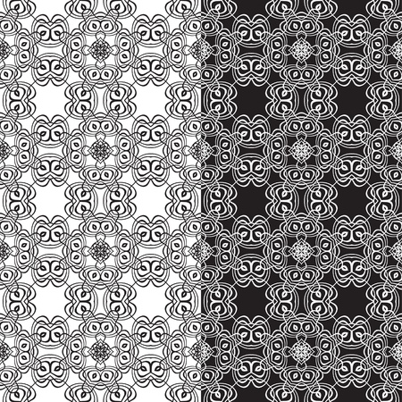 islamic pattern: Seamless pattern for a fabric, papers, tiles  Illustration