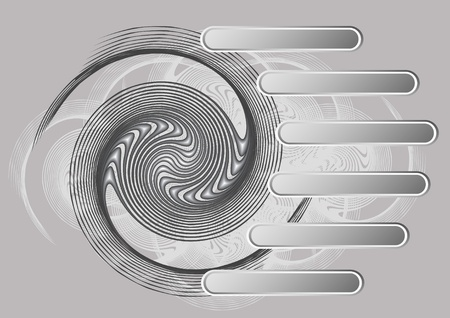 tract technology circles vector background